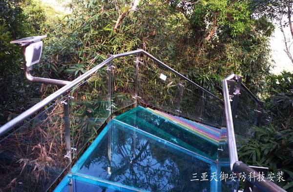 三亞亞龍灣熱帶天堂森林公園太陽能客流統計系統