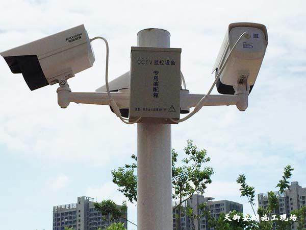 紅樹灣別墅弱電安防系統